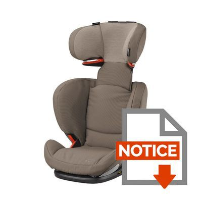 bebe confort si ge auto groupe 2 3 rodifix airprotect isofix earth brown achat vente. Black Bedroom Furniture Sets. Home Design Ideas
