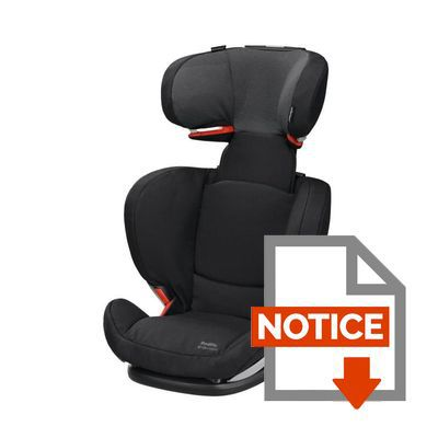 bebe confort si ge auto groupe 2 3 rodifix airprotect isofix black raven achat vente. Black Bedroom Furniture Sets. Home Design Ideas