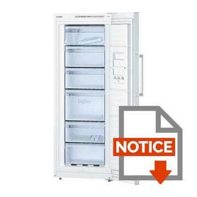 Congelateur armoire bosch meilleures images d - Congelateur armoire beko no frost ...