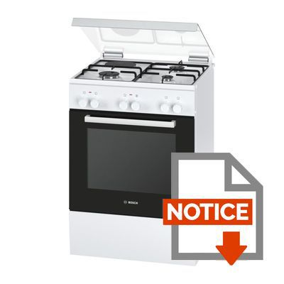bosch hgd72d120f cuisini re table mixte gaz lectrique. Black Bedroom Furniture Sets. Home Design Ideas