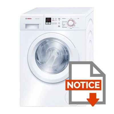 bosch wak28160ff lave linge frontal 8 kg 1400 tours a achat vente lave linge. Black Bedroom Furniture Sets. Home Design Ideas