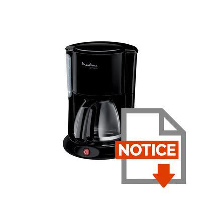 cafetiere moulinex principio noir fg260811 achat vente cafeti re cdiscount. Black Bedroom Furniture Sets. Home Design Ideas