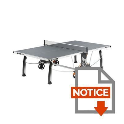Cornilleau table de ping pong outdoor 400 m crossover for Table ping pong exterieur pas cher