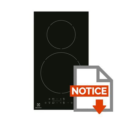 Electrolux ehh3320nvk table induction achat vente for Plaque a induction fonctionnement