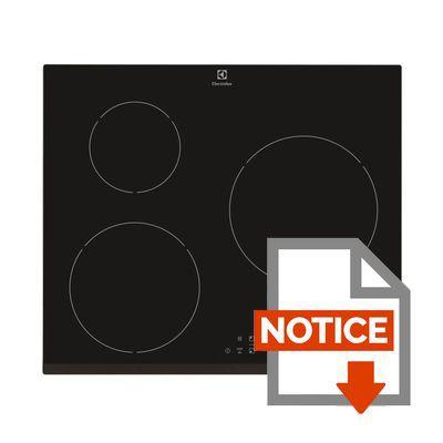 Plaque induction electrolux ehh6333fok table de cuisine - Electrolux ehlfok table induction ...