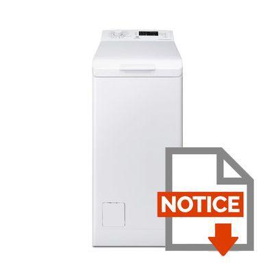 Mode d'emploi ELECTROLUX Lave Linge EWT1361ESW
