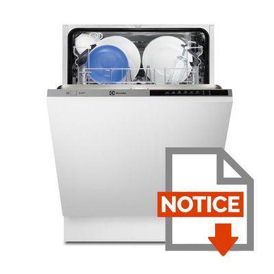 Mode d'emploi ELECTROLUX Lave-vaissell tout intégrable ESL6300LO