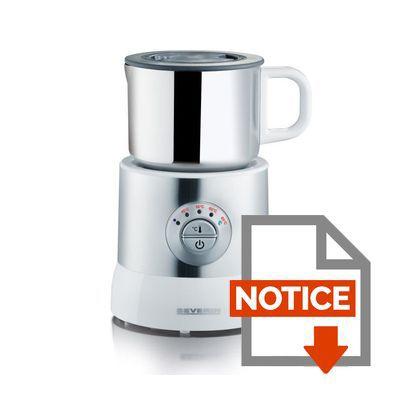 emulsionneur de lait chauffant severin sm 9685 achat. Black Bedroom Furniture Sets. Home Design Ideas