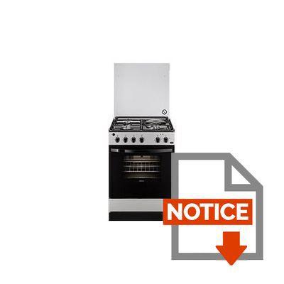 Mode d'emploi FAURE FCM6401CSA - Cuisinière 60 cm 58L Catalyse -