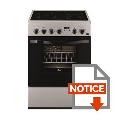 Faure fcv6530csa cuisini re table vitroc ramique 4 zones 8485w four lectri - Comment brancher une cuisiniere ...