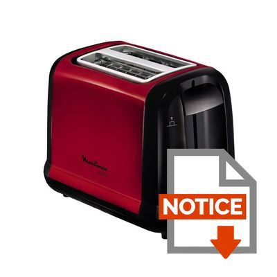 moulinex toaster subito rouge lt260d11 achat vente grille pain toaster cdiscount. Black Bedroom Furniture Sets. Home Design Ideas