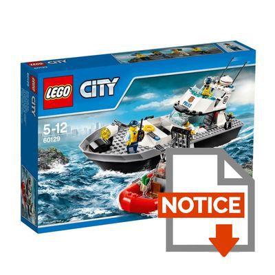 60129 Le bateau de patrouille de la police  Wiki LEGO  Wikia