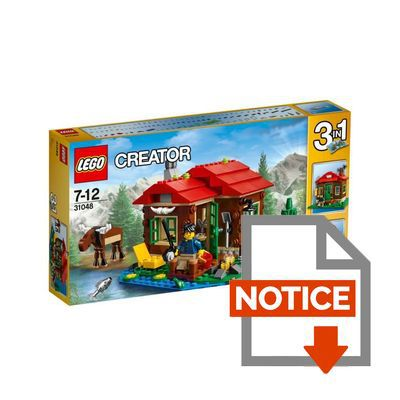 Lego creator 31048 la cabane au bord du lac achat vente assemblage construction cdiscount - La cabane au bord du lac biscarrosse ...