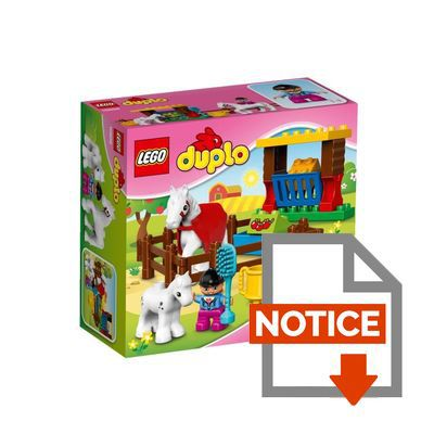 LEGO Duplo 10806 pas cher  Les chevaux