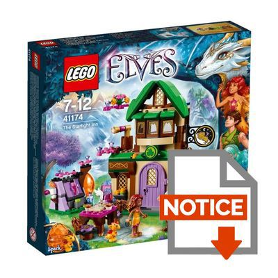 Lego elves 41174 l 39 auberge des toiles achat vente - Notice de construction lego ...