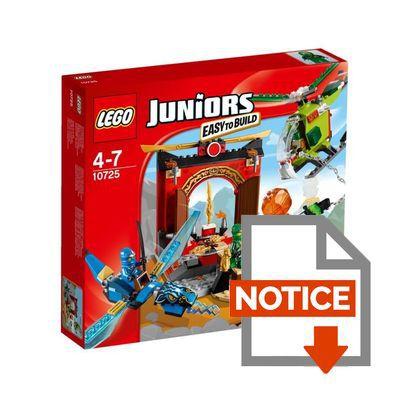 LEGO Juniors 10725 Le temple perdu de Ninjago ColliShop