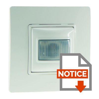 legrand interrupteur automatique nilo 400w blanc achat vente interrupteur cdiscount. Black Bedroom Furniture Sets. Home Design Ideas