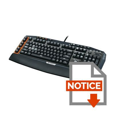 logitech clavier m canique gaming g710 univers gamingpascher. Black Bedroom Furniture Sets. Home Design Ideas