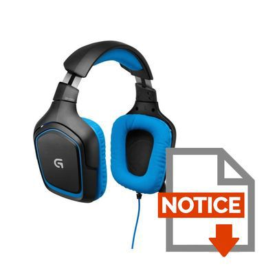 logitech micro casque gaming g430 pc ps4 prix pas cher cdiscount. Black Bedroom Furniture Sets. Home Design Ideas