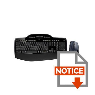logitech pack clavier souris sans fil mk710 prix pas cher cdiscount. Black Bedroom Furniture Sets. Home Design Ideas