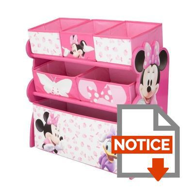 minnie meuble de rangement enfant jouets 6 bacs achat vente commode de chambre cdiscount. Black Bedroom Furniture Sets. Home Design Ideas
