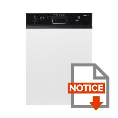 Notice lave vaisselle oceanic 12 couverts