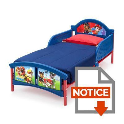 pat patrouille lit enfant 70 x 140 cm achat vente. Black Bedroom Furniture Sets. Home Design Ideas