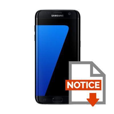 samsung galaxy s7 edge noir achat smartphone pas cher avis et meilleur prix les soldes sur. Black Bedroom Furniture Sets. Home Design Ideas