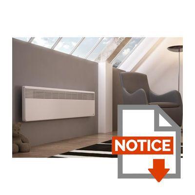sauter convecteur lectrique lucki plinthe 1000w achat. Black Bedroom Furniture Sets. Home Design Ideas