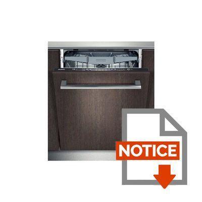 siemens sn65d080eu lave vaisselle tout int grable 13 couverts 46db a larg 59 8cm. Black Bedroom Furniture Sets. Home Design Ideas