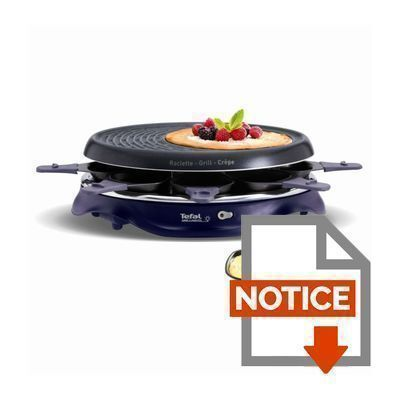 tefal raclette re511412 simply invents achat vente. Black Bedroom Furniture Sets. Home Design Ideas