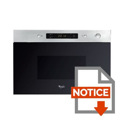 whirlpool amw490ix micro ondes achat vente micro ondes cdiscount. Black Bedroom Furniture Sets. Home Design Ideas