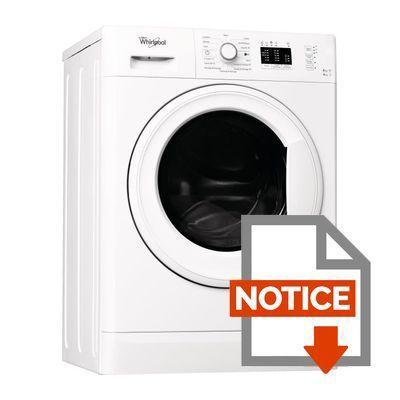 whirlpool wwde8612 lave linge s chant lav 8kg s ch 6 kg 1200 tours classe a blanc. Black Bedroom Furniture Sets. Home Design Ideas