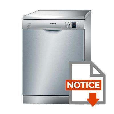 bosch sms40e08eu - achat / vente lave-vaisselle - cdiscount