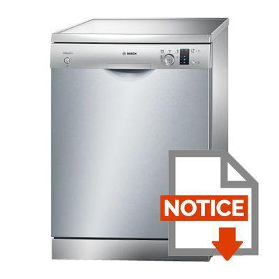 bosch sms50d38eu - lave-vaisselle posable - 12 couverts - 48db