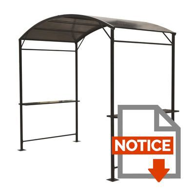 carport barbecue v lo moto 4 05 m 270 x 150 x 225 cm. Black Bedroom Furniture Sets. Home Design Ideas