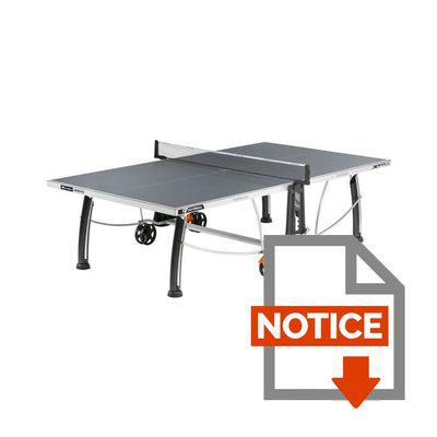 CORNILLEAU Table de Ping-Pong Outdoor 300 S Crossover - Prix pas ... cc1705b64f25