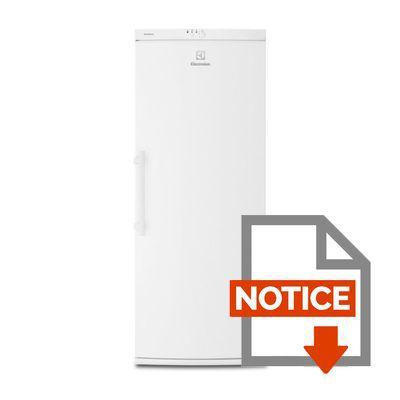 ELECTROLUX EUF2244AOW Congélateur armoire - Achat / Vente ...