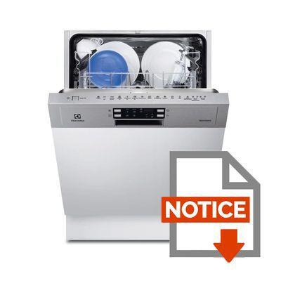 electrolux lave vaisselle encastrable esi6541lox achat. Black Bedroom Furniture Sets. Home Design Ideas