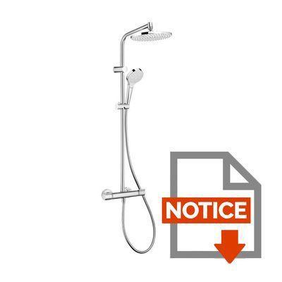 notice de montage colonne de douche