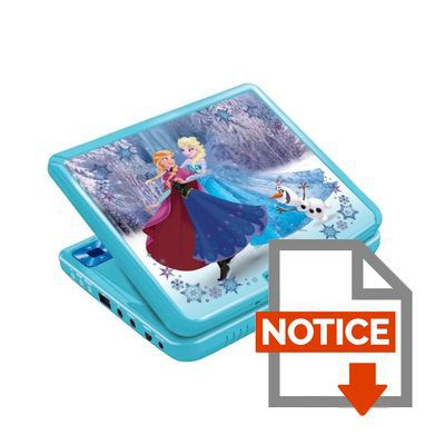 la reine des neiges lecteur dvd portable enfant achat vente lecteur dvd enfant cdiscount. Black Bedroom Furniture Sets. Home Design Ideas