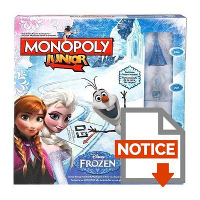 mode demploi monopoly la reine des neiges - Telecharger La Reine Des Neiges