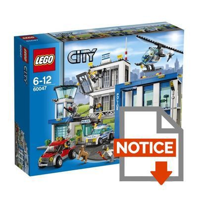 Notice montage lego city camion police - Camion lego city police ...