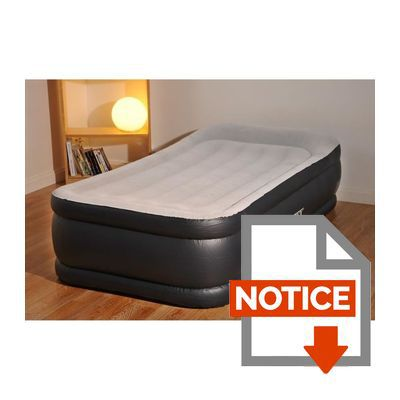 Intex Matelas Gonflable Deluxe Rest Bed 99X191 Cm - Fermeté