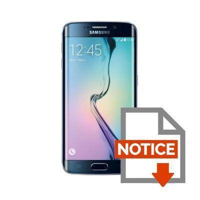 samsung galaxy s6 edge 32 go noir achat smartphone pas. Black Bedroom Furniture Sets. Home Design Ideas