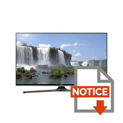 Mode d'emploi SAMSUNG UE50J6240AKXZF - TV LED Full HD 1080p - 125cm (50