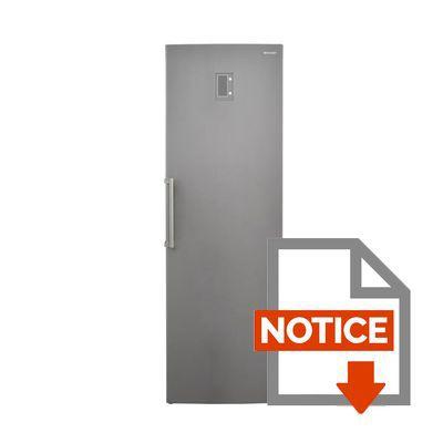 sharp sj-l2350e3i - réfrigérateur 1 porte - 349l - froid ventilé