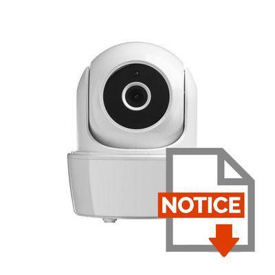 somfy cam ra de surveillance ip int rieure motoris e hd vision nocturne icm100 achat vente. Black Bedroom Furniture Sets. Home Design Ideas
