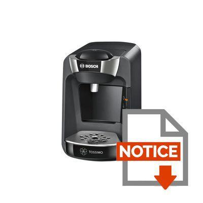 bosch tassimo suny tas3202 - noir - achat / vente machine à café