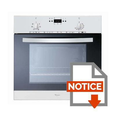 Mode d'emploi WHIRLPOOL AKP250WH - Four catalyse 51L Blanc